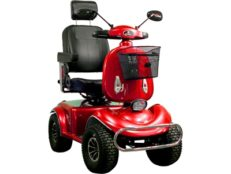 boomerbuggy V red Mobility Scooter 1