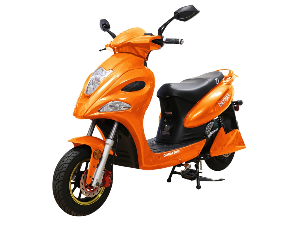 Daymak Indianapolis Orange Scooter